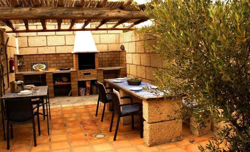 Appertementen San Miguel - barbecue plek