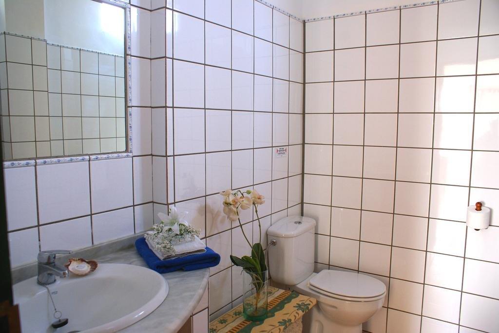 Appertementen San Miguel - badkamer