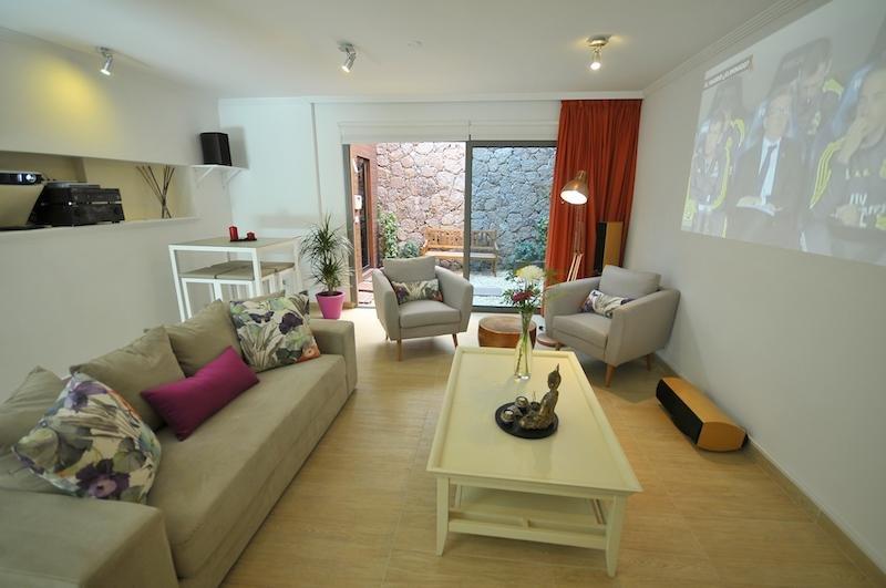 Appartementen Amadores - woonkamer