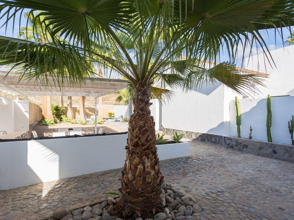Villa Guaza Callaos - tuin
