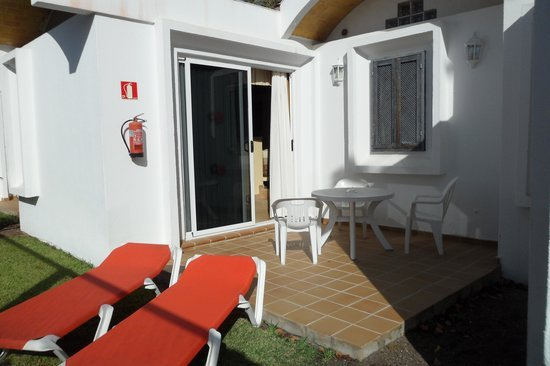 Appartementen Biarritz - terras