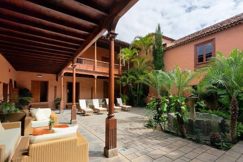 Hotel La Quinta Roja - binnenplaats