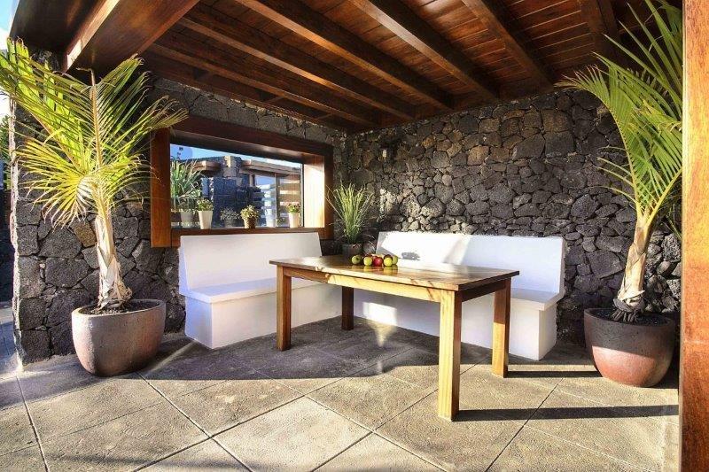 Villa Ermita Perdomo - overdekt terras
