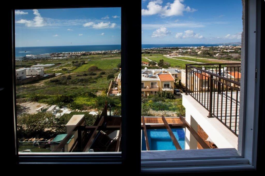 Villa Town House - uitzicht