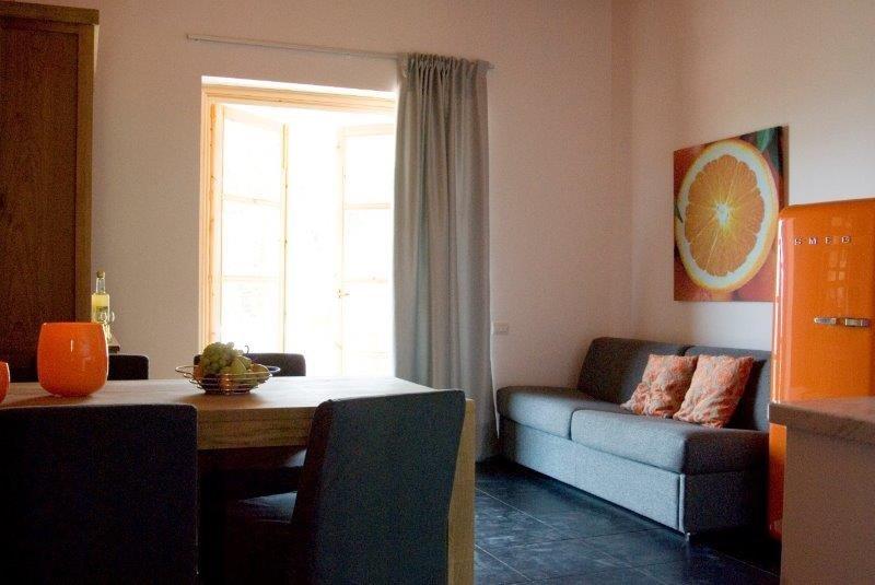 Appartementen Tenuta Madonnina - woonkamer