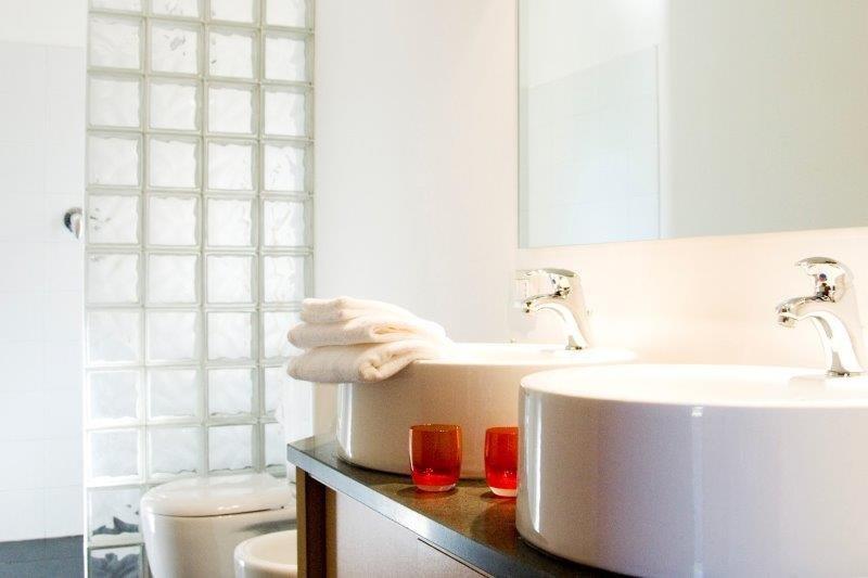 Appartementen Tenuta Madonnina - badkamer