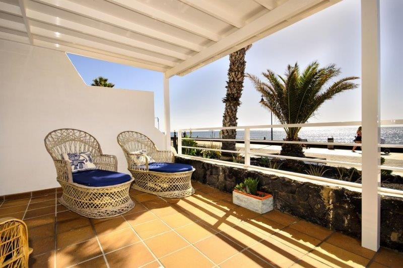 Villa Malondra - overdekt terras