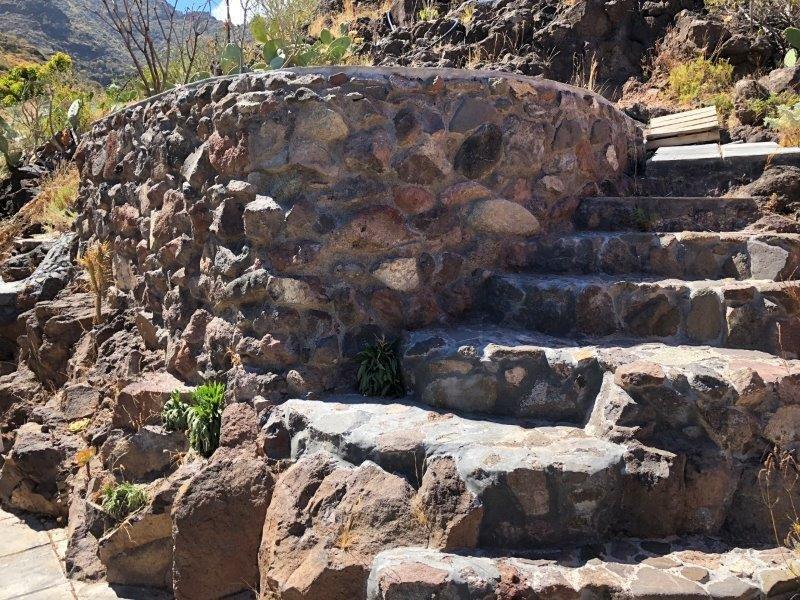 Casita Nuevo Barranco - trap naar jacuzzi