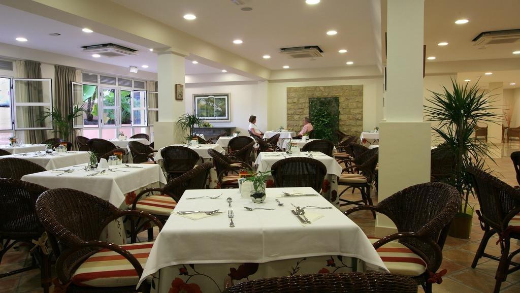 Appartementen Jardin del Conde - restaurant