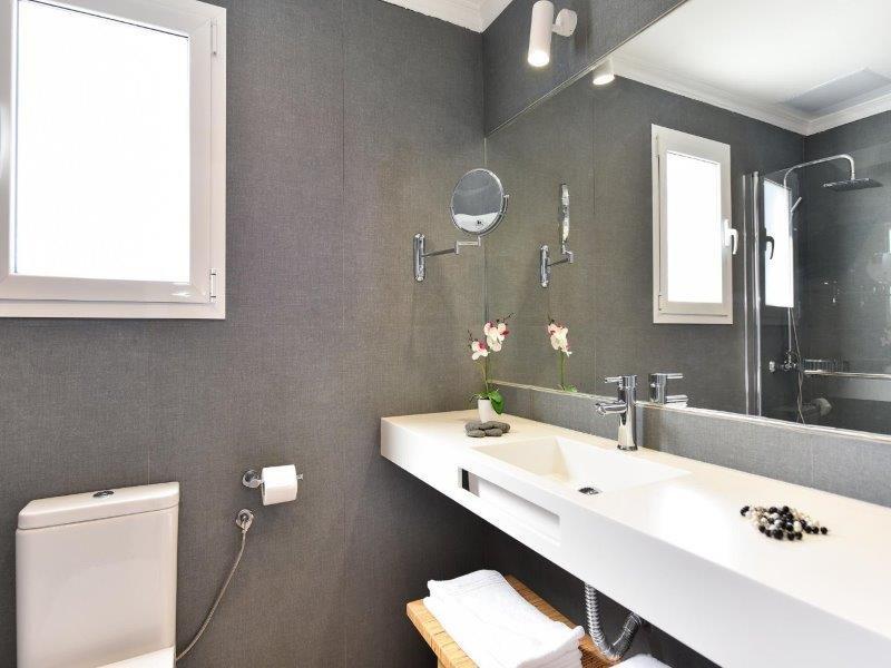 Appartementen Sonnenland - badkamer