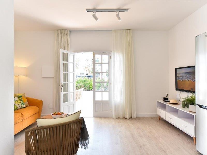 Appartementen Sonnenland - woonkamer