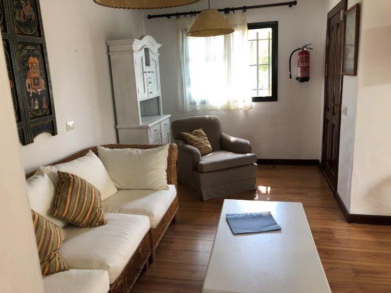 Villa Once Piedras - woonkamer
