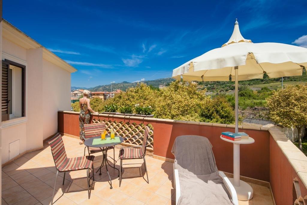 Hotel Alcantara Resort- balkon