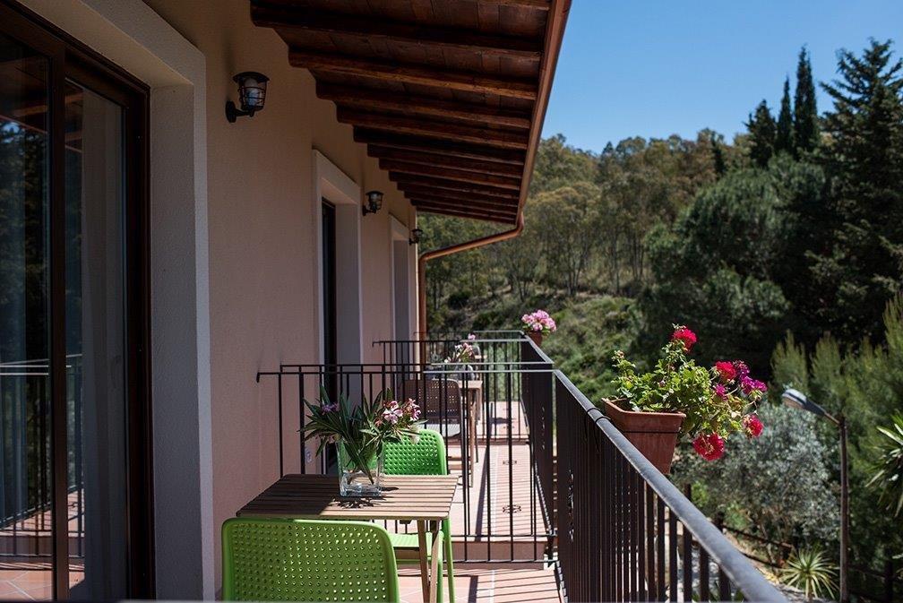 Hotel Vechia Masseria - juniorsuite balkon