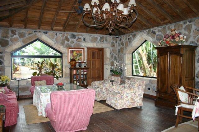 Villa Piedras de Aqua - gezamenlijke lounge