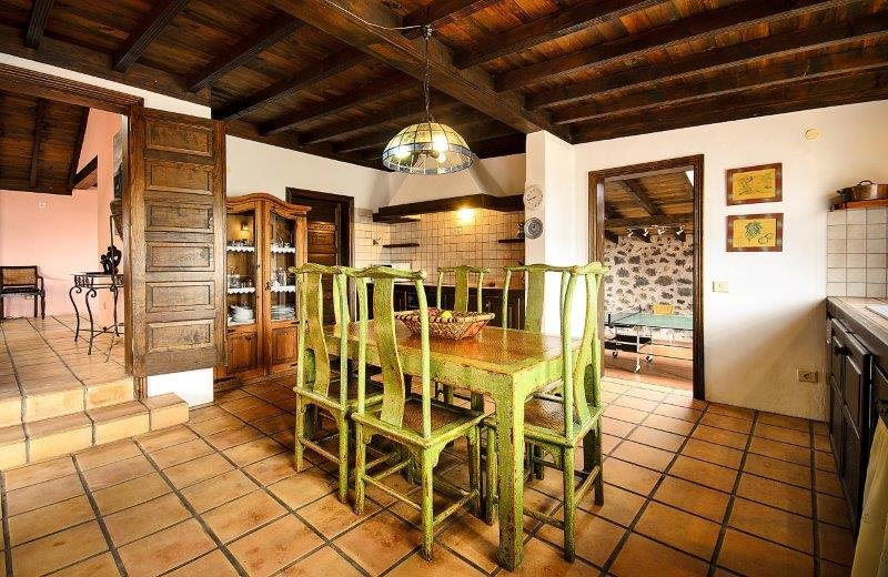 casa del volcan - keuken