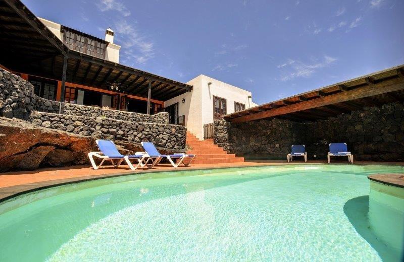 casa del volcan - zwembad
