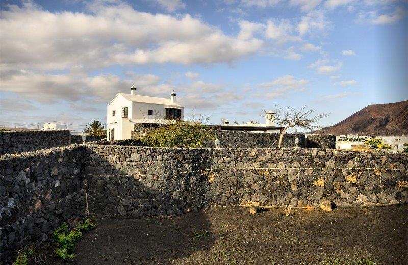 casa del volcan - tuin