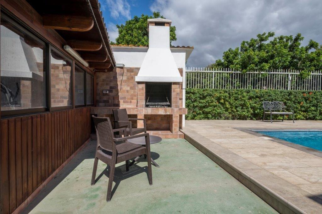Villa Cuarenta Piedras - barbecue