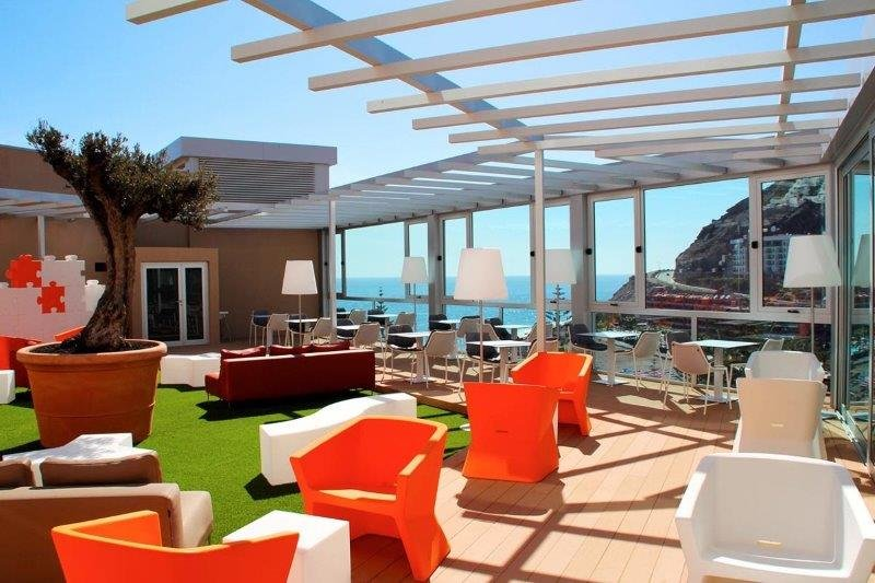 Appartementen Riviera Vista - buitenlounge