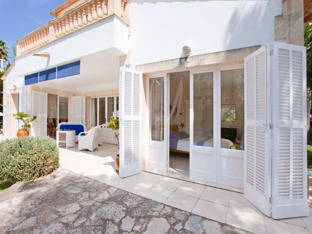 Villa Blanca - overdekt terras