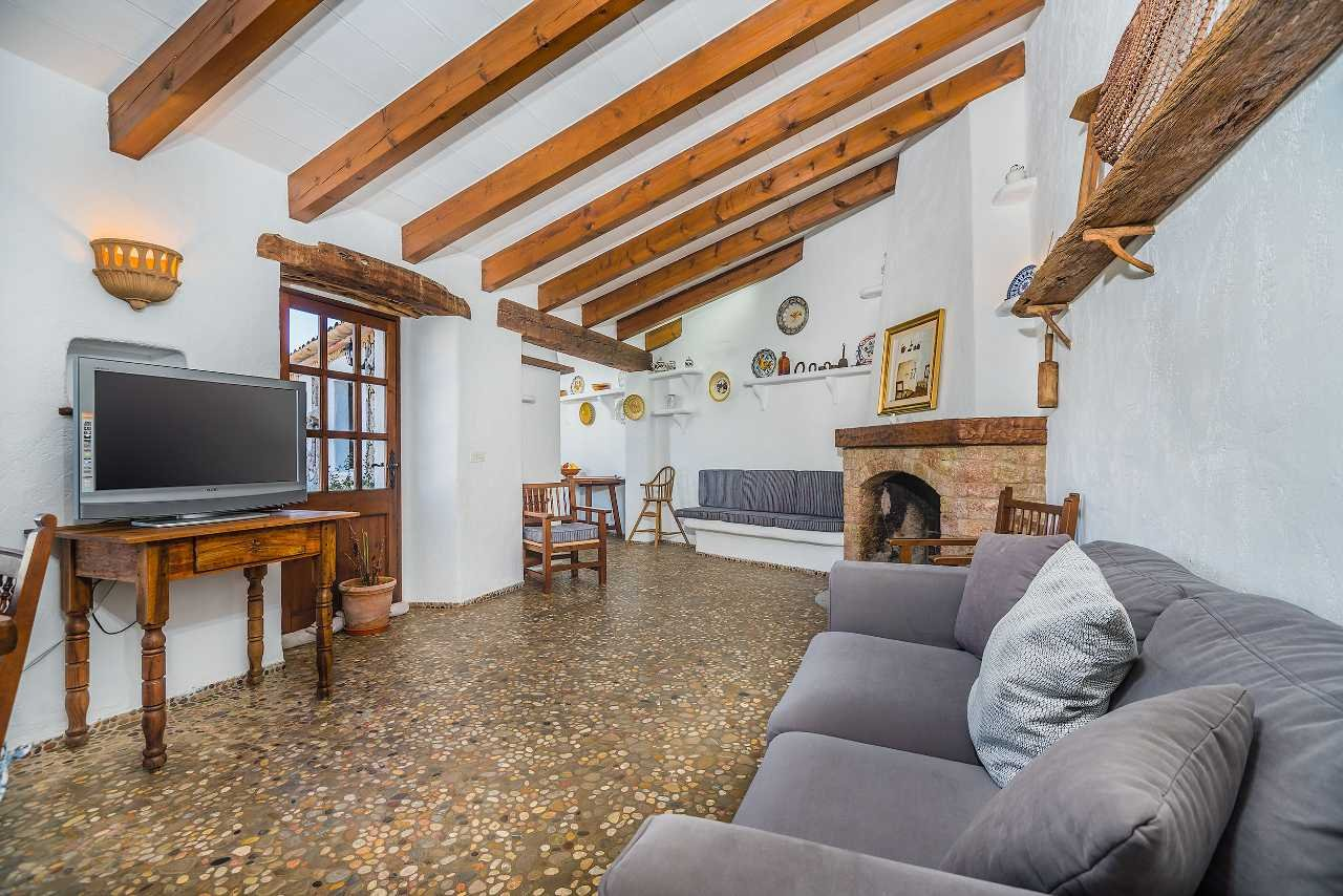 Villa Can Segui - woonkamer