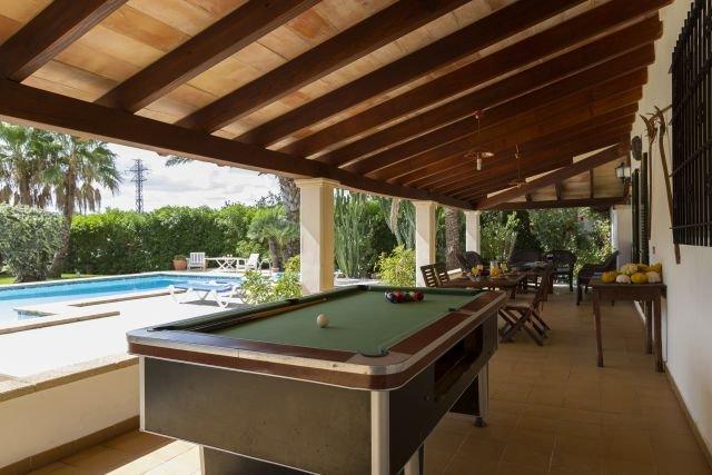 Villa Canaves - biljart