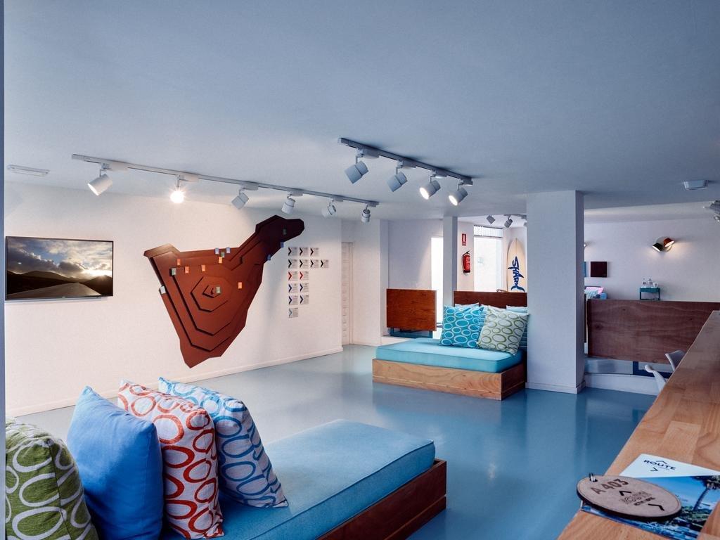 Appartementen Route Active - lounge