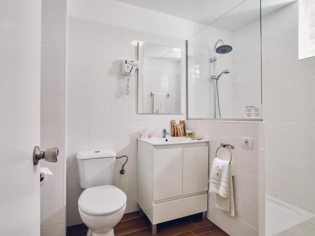 Appartementen Route Active - badkamer