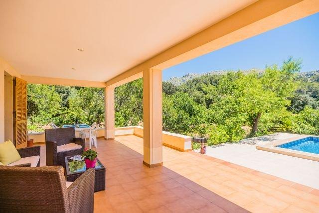 Villa Can Vich - overdekt terras