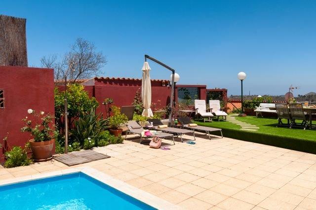 Villa Casa de la Cruz - tuin