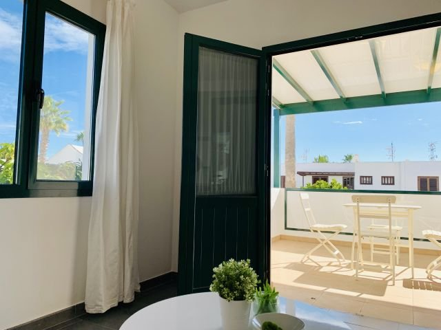 Appartementen Zalabar - terras
