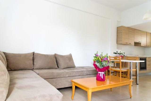 Appartementen Helios Bay - woonkamer