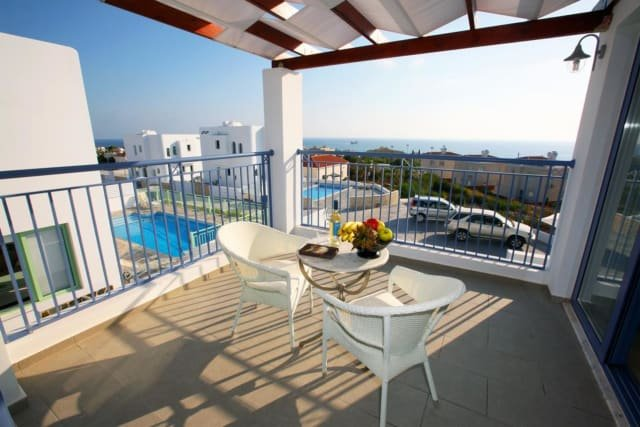 Villa Meltemi - balkon