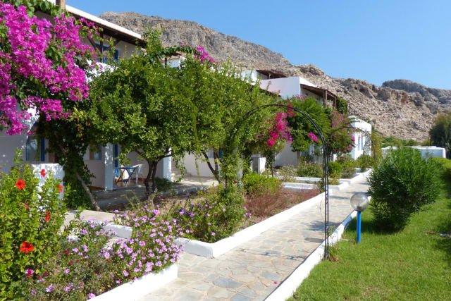 Hotel Lindos Sun - tuin