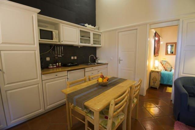 Appartementen Vicentina - keuken