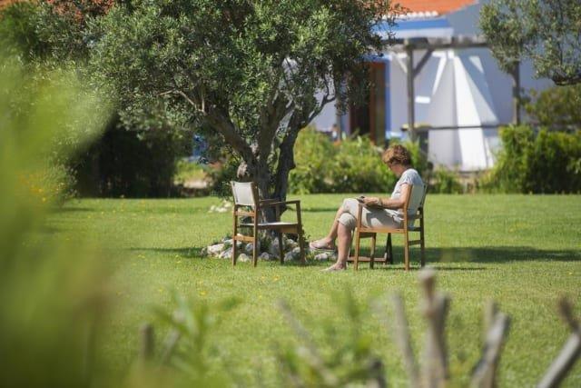 Appartementen Vicentina - tuin
