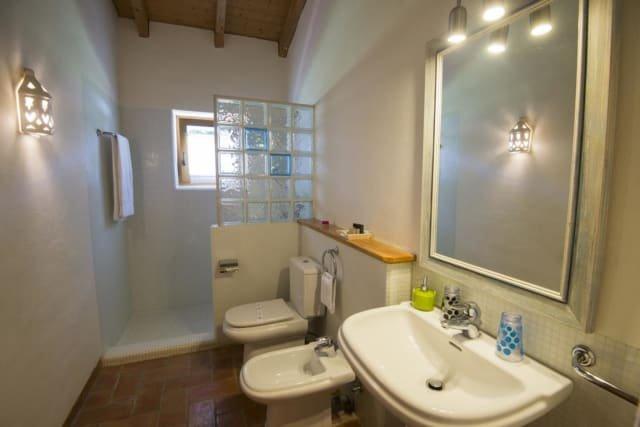 Appartementen Vicentina - badkamer