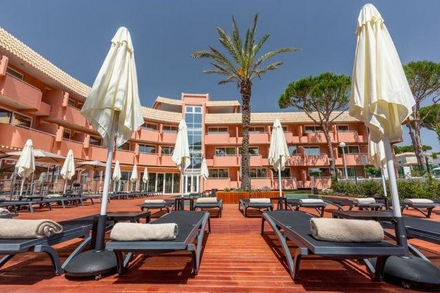 Hotel Vilamoura Garden - zonneterras