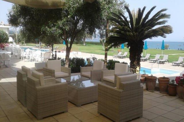 Hotel Natura Beach - terras