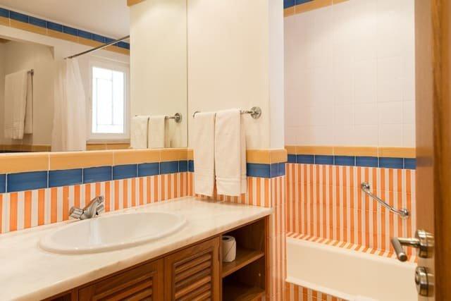 Appartementen Pinhal da Marina - badkamer