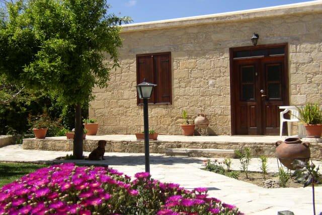 Village Houses Spanos - tuin