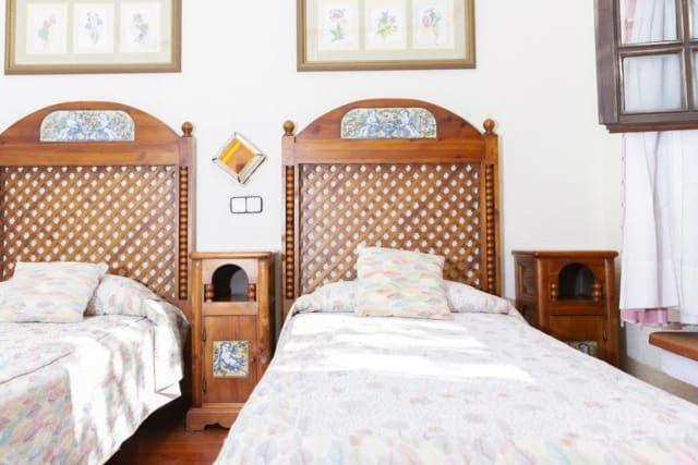 Hotel El Refugio - slaapkamer