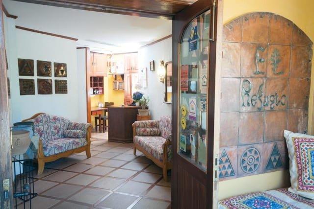 Hotel El Refugio - receptie