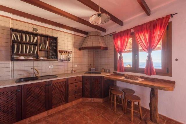 Casita Pagarrona - keuken