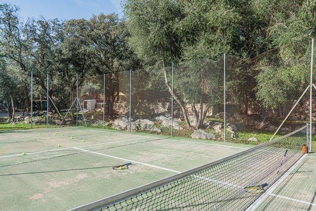 Villa Can Romani - tennisbaan