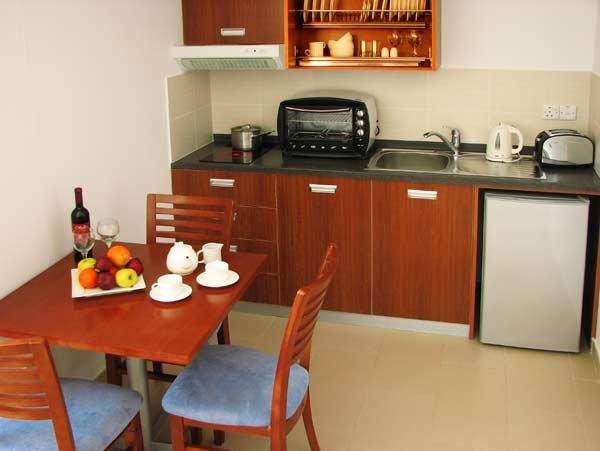 Appartement Sunset Bay - keuken