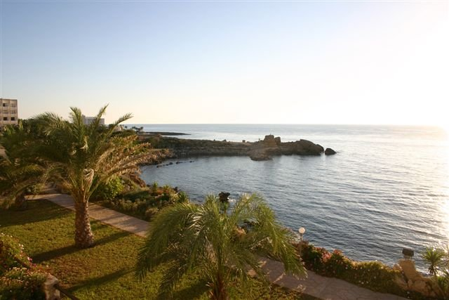 Appartementen Vrachia - tuin en zee