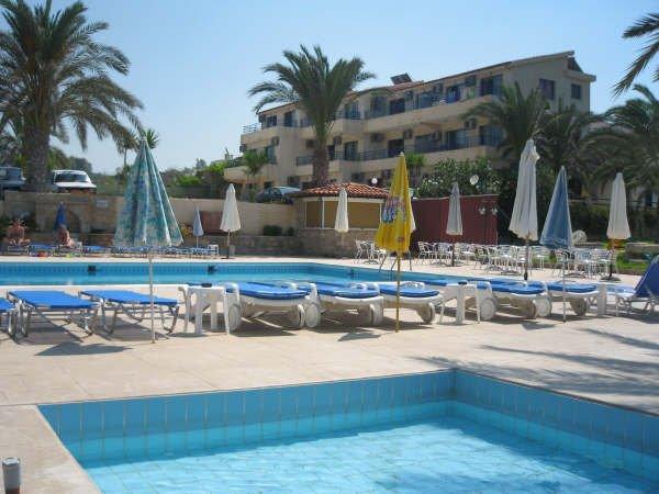 Appartementen Vrachia - zwembad