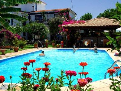 Appartementen Bay view - zwembad